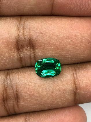 Zambian Emerald Cushion 46