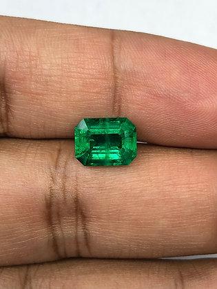 Zambian Emerald Octagon 3.15 Carat
