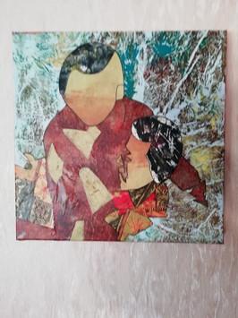 Micheline Liguori - Collage chinois