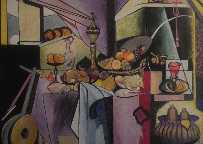 Alain Fortier-D'un peintre à l'autre. Les couleurs de Signac sur un tableau de Matisse