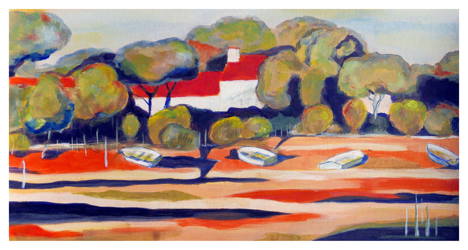 Paysage-Marie Christine Prévault