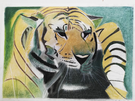 Ginette Renault - Tigre