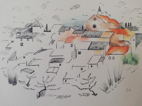 Dany Gérard - village