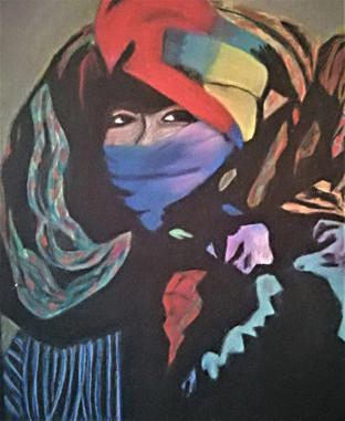 Anita Loiseleur - la femme au turban