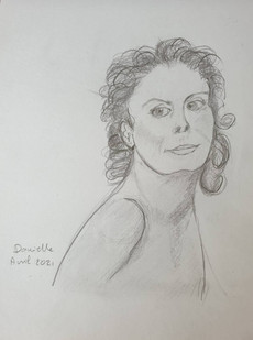 Danielle Verroit_Portrait Suzanne Sarand