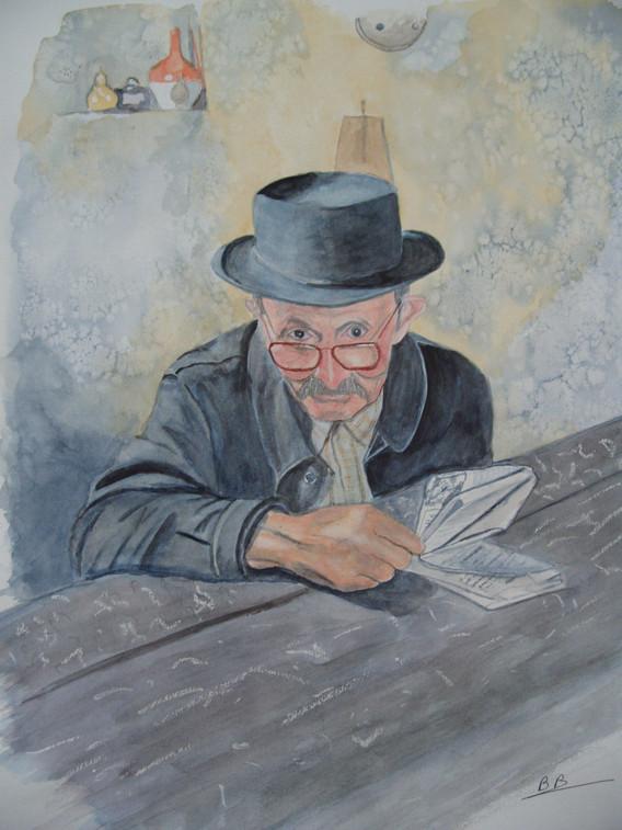 Bernard Barbier_Le vieil auvergnat