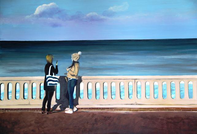 Michiko Froissart-Face a la mer