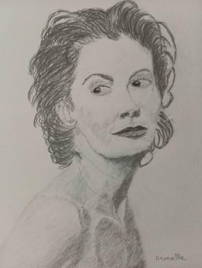 Armelle Godinat_Portrait Suzanne Sarando