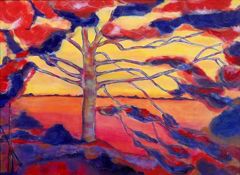 MC Prévault - Les couleurs de Rotko sur une œuvre de Matisse