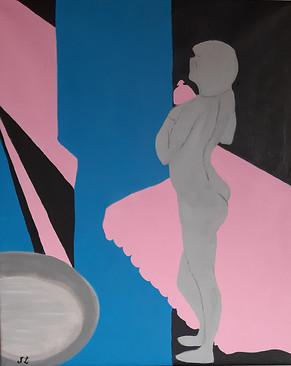 Nadege Lebray-Les couleurs de Matisse sur une œuvre de Bonnard