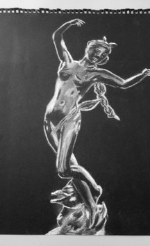 Christiane Renault_Statuette Diane