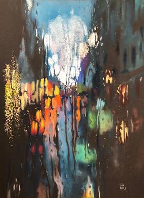 Severine Lautraite-Après la pluie_pastel