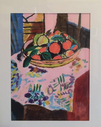 Marylene Deysson_Nature morte d'après Matisse