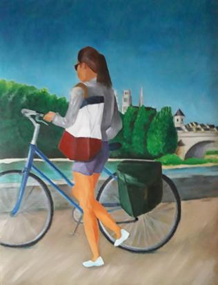 Gilles Cosson - Cycliste du bord de loire