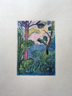 Pascale Jung_Nature comme chez Chagall