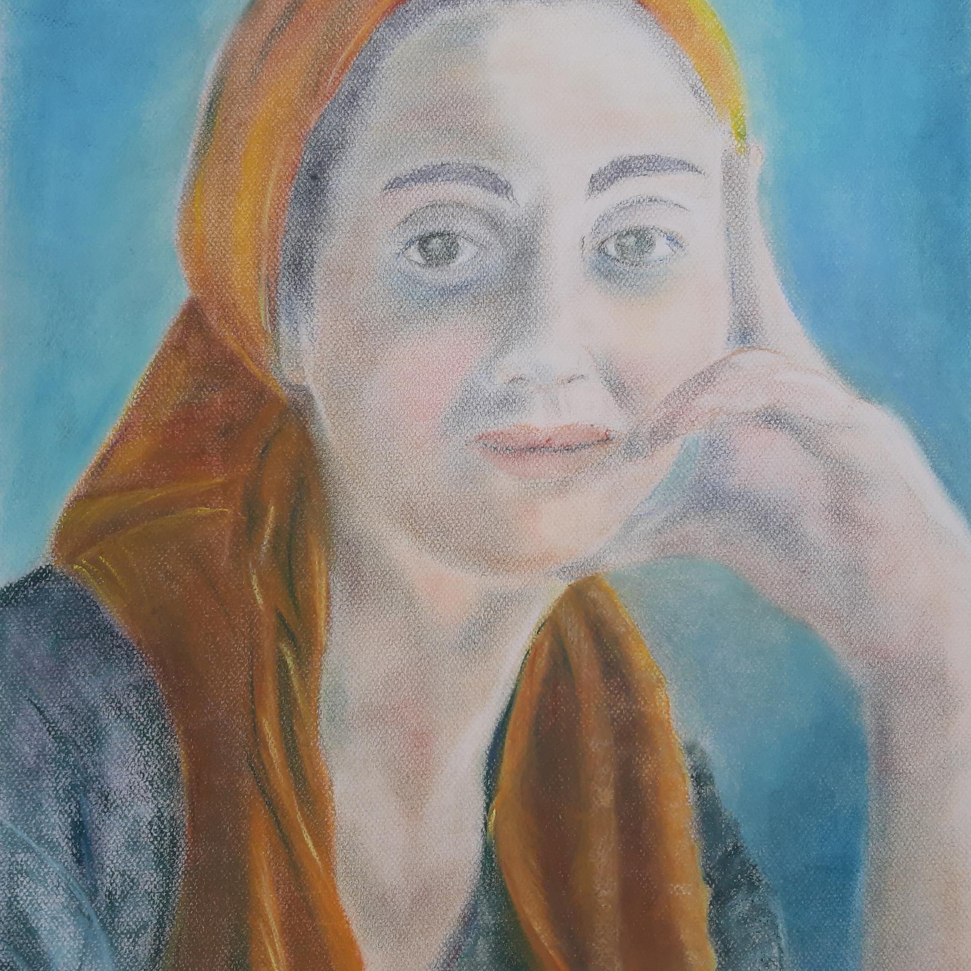 Josiane Berthelot - Pastel Tchetchene