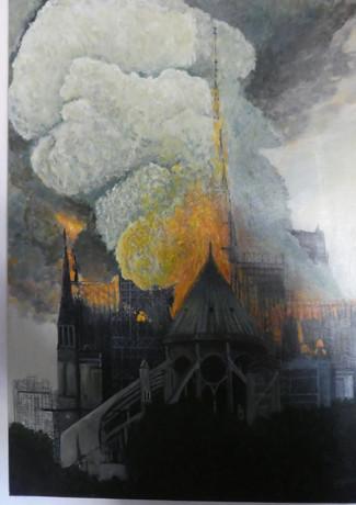 Alain Fortier - Notre Dame en Feu