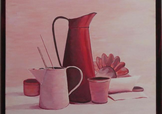 Alain Fortier-les pots rouges
