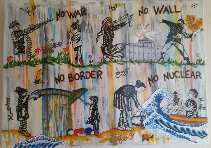 Chantal El Jaoudali - No war