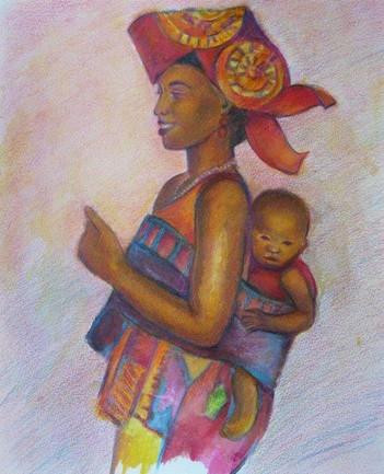 Odile Bretonnet-africaine