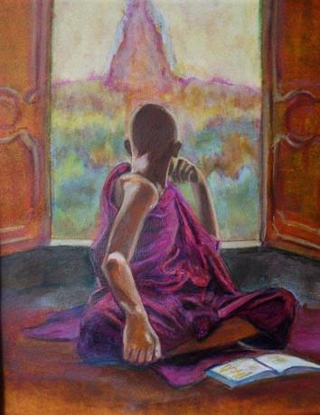 Odile Bretonnet-Vue meditation