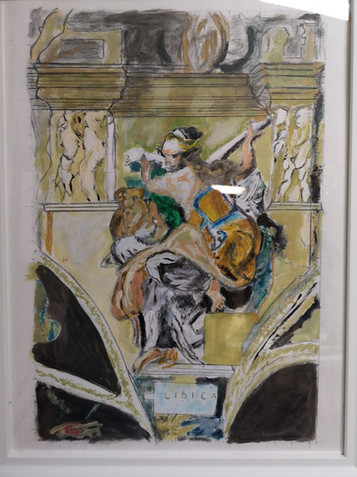 La Sibylle de Raphael par Guy