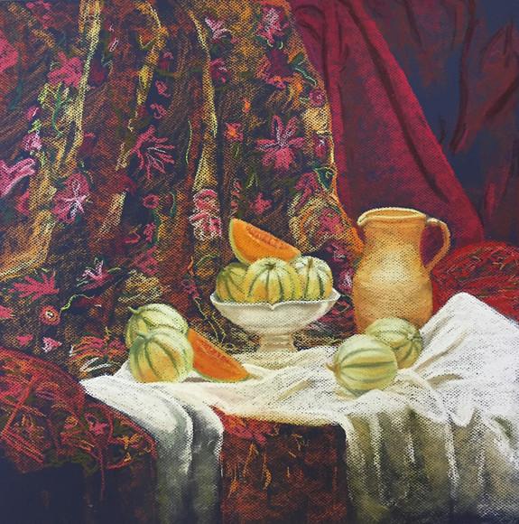 Severine Lautraite-Nature Morte d'après Matisse