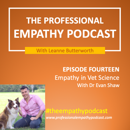 Empathy in Vet Science with Dr Evan Shaw