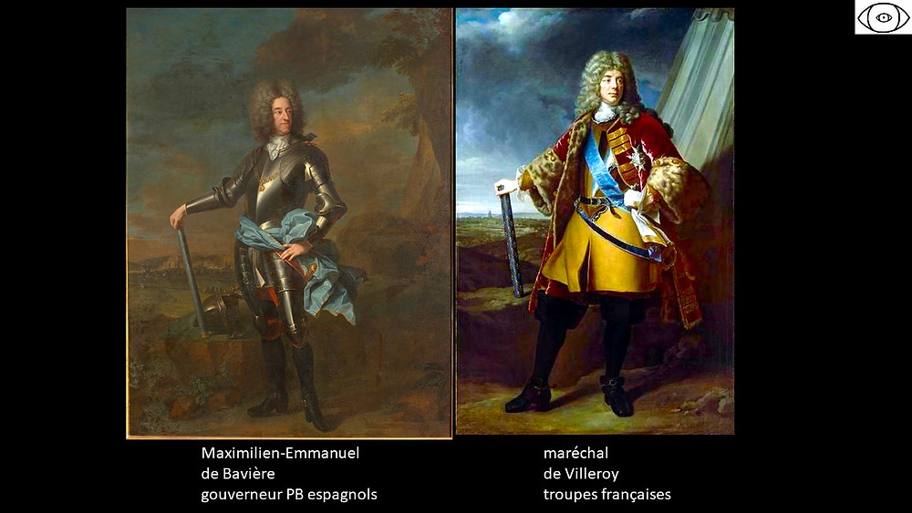 Maximilien Emmanuel de Bavière et le maréchal de Villeroy, visite guidée Bruxelles, Vincent Beckers