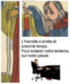 carte hermite tarot psychanalyse vincent beckers