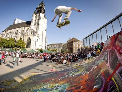 square des Ursulines, visite guidée Bruxelles, Vincent Beckers