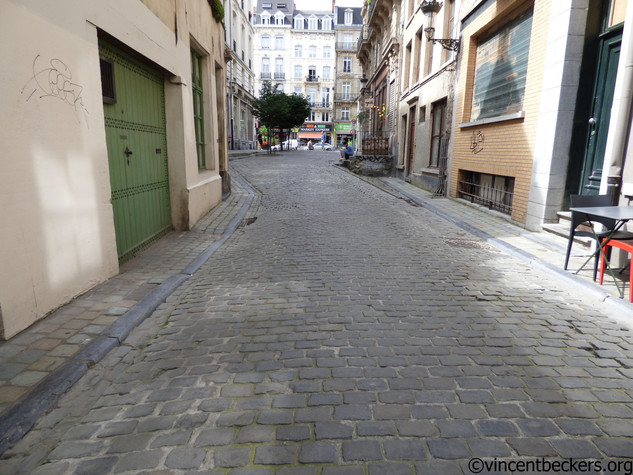 Le point le plus bas de la ville de Bruxelles
