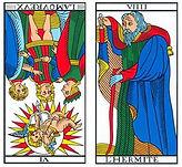 vincent-beckers-amoureux -hermite -carte tarot