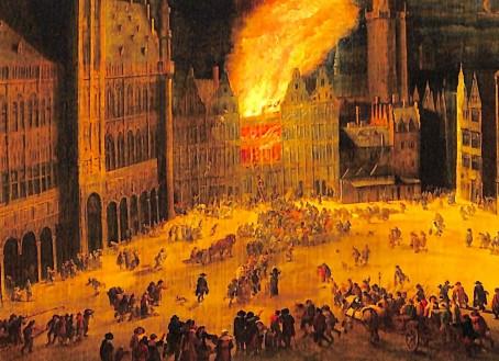 La Louve en feu