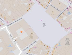 rue de l'amigo, Bruxelles, visite Bruxelles, visite guidée Bruxelles, Vincent Beckers