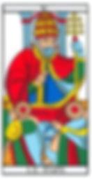 cours tarot carte pape vincent beckers