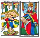 vincent-beckers-bateleur-papesse carte tarot
