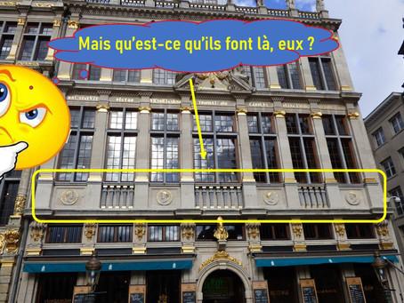 Des empereurs romains sur la Grand-Place de Bruxelles ? En voilà une idée !