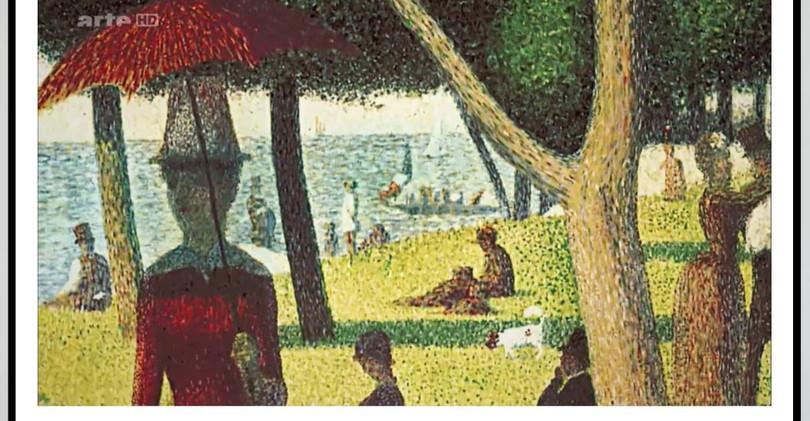 Vincent Beckers, histoire de l'art, pointillisme