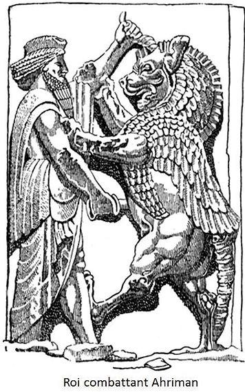 diable tarot ahriman vincent beckers