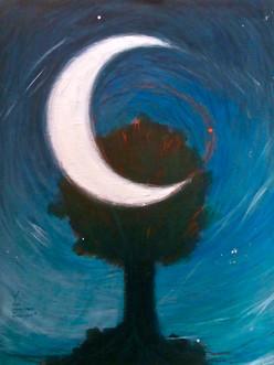 Grand arbre ou petite lune ?