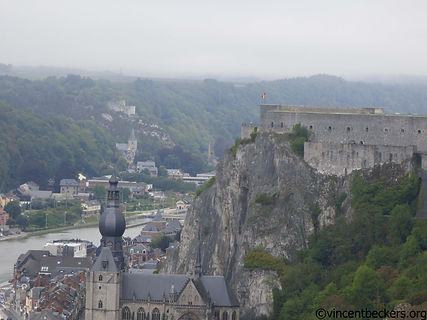 Dinant, visite Dinant, Bouvignes,visite Wallonie, Wallonie tourisme, Vincent Beckers, point de vue sur Dinant