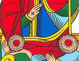 benediction pape carte tarot vincent beckers