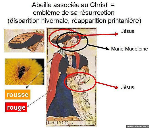 carte tarto symbolique jesus ptah myhtologie