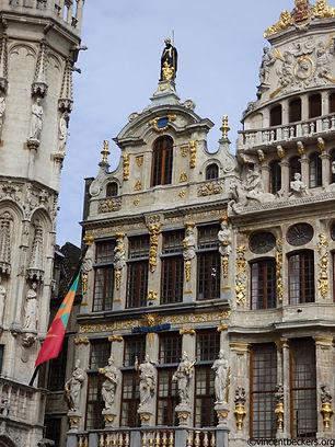 Visite Bruxelles, grand-Place, guide touristique privé, Vincent Beckers