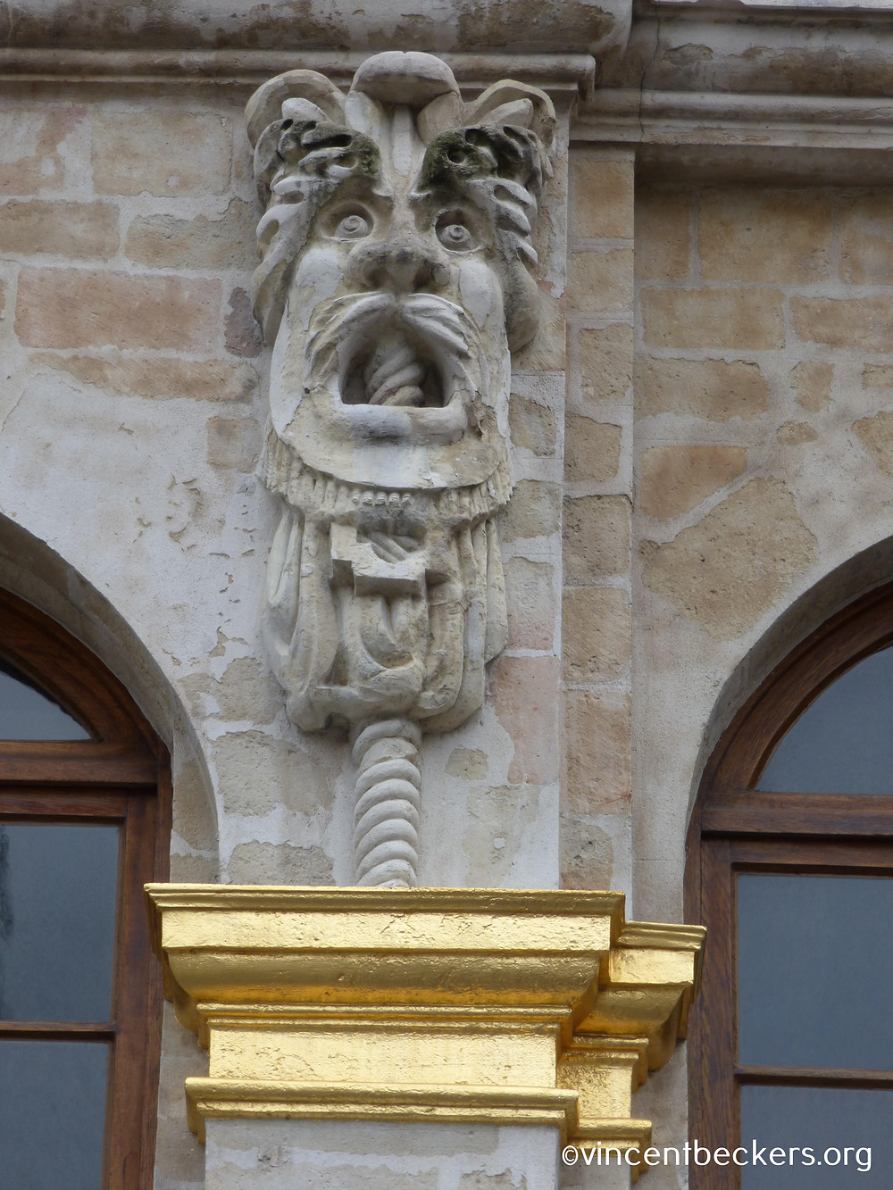 mascaron Grand-Place Bruxelles, visite Grand-Place Bruxelles, Vincent Beckers