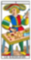 carte bateleur tarot vincent beckers