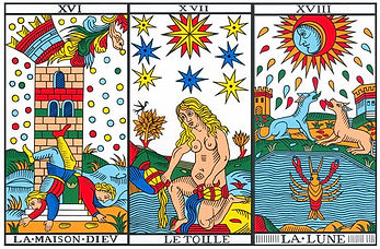 porte energetique carte tarot vouivre  tellurique vincent beckers