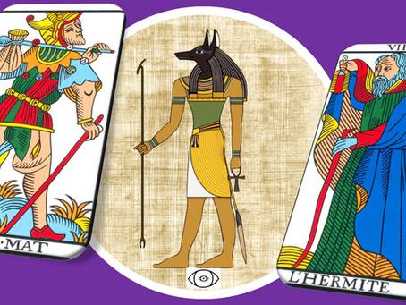 Anubis et tarot