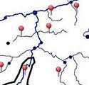 cours eau wallon, wallonie tourisme, carte cours eau wallon
